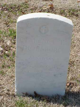 THORNBURG (VETERAN UNION), CLARENCE E - Pulaski County, Arkansas | CLARENCE E THORNBURG (VETERAN UNION) - Arkansas Gravestone Photos