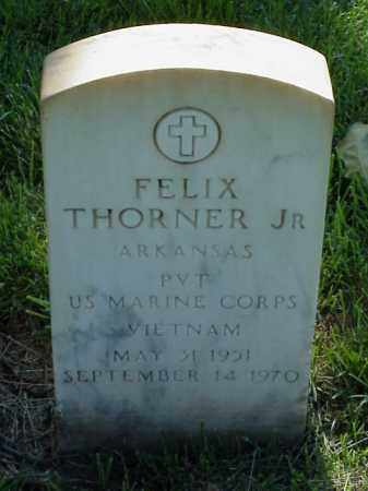 THORNER, JR (VETERAN VIET), FELIX - Pulaski County, Arkansas | FELIX THORNER, JR (VETERAN VIET) - Arkansas Gravestone Photos