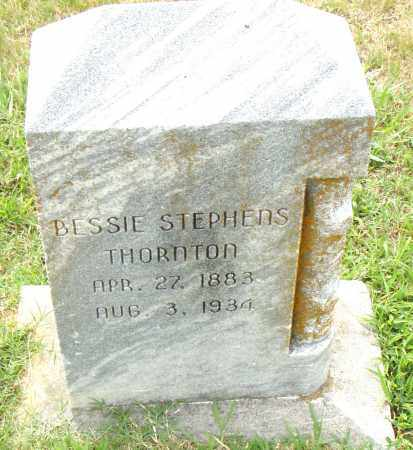STEPHENS THORNTON, BESSIE - Pulaski County, Arkansas | BESSIE STEPHENS THORNTON - Arkansas Gravestone Photos