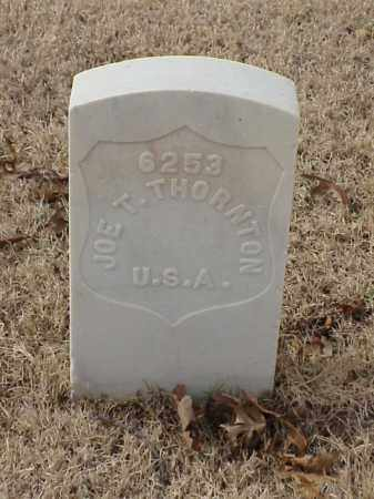 THORNTON (VETERAN), JOE T - Pulaski County, Arkansas | JOE T THORNTON (VETERAN) - Arkansas Gravestone Photos