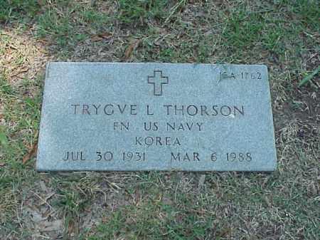 THORSON (VETERAN KOR), TRYGVE L - Pulaski County, Arkansas | TRYGVE L THORSON (VETERAN KOR) - Arkansas Gravestone Photos