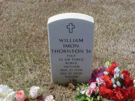 THORTON, SR  (VETERAN 2 WARS), WILLIAM IMON - Pulaski County, Arkansas | WILLIAM IMON THORTON, SR  (VETERAN 2 WARS) - Arkansas Gravestone Photos