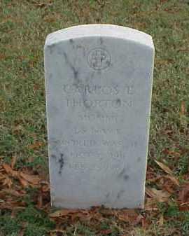 THORTON (VETERAN WWII), CARLOS E - Pulaski County, Arkansas   CARLOS E THORTON (VETERAN WWII) - Arkansas Gravestone Photos