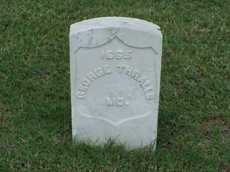 THRALLS (VETERAN UNION), GEORGE - Pulaski County, Arkansas | GEORGE THRALLS (VETERAN UNION) - Arkansas Gravestone Photos