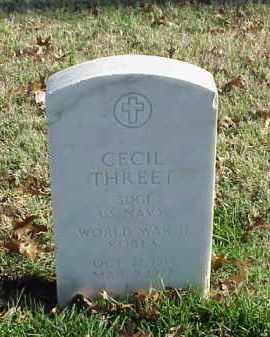 THREET (VETERAN 2 WARS), CECIL - Pulaski County, Arkansas | CECIL THREET (VETERAN 2 WARS) - Arkansas Gravestone Photos