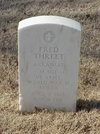 THREET (VETERAN 2 WARS), FRED - Pulaski County, Arkansas | FRED THREET (VETERAN 2 WARS) - Arkansas Gravestone Photos