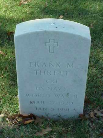 THREET (VETERAN WWII), FRANK M - Pulaski County, Arkansas | FRANK M THREET (VETERAN WWII) - Arkansas Gravestone Photos