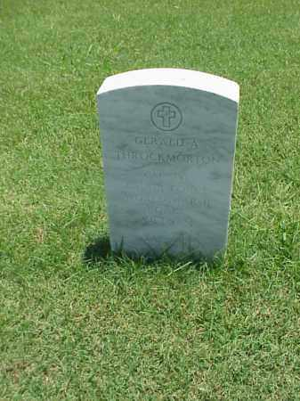THROCKMORTON (VETERAN 3 WARS), GERALD A - Pulaski County, Arkansas | GERALD A THROCKMORTON (VETERAN 3 WARS) - Arkansas Gravestone Photos