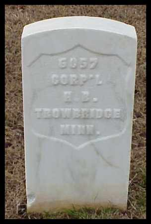 TROWBRIDGE (VETERAN UNION), HENRY B - Pulaski County, Arkansas | HENRY B TROWBRIDGE (VETERAN UNION) - Arkansas Gravestone Photos