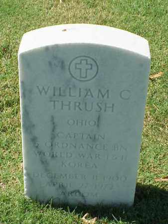 THRUSH (VETERAN 3 WARS), WILLIAM C - Pulaski County, Arkansas | WILLIAM C THRUSH (VETERAN 3 WARS) - Arkansas Gravestone Photos