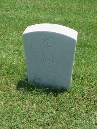 THURBER (VETERAN WWII), LEROY C - Pulaski County, Arkansas | LEROY C THURBER (VETERAN WWII) - Arkansas Gravestone Photos