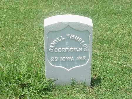 THURLOW (VETERAN UNION), DANIEL - Pulaski County, Arkansas | DANIEL THURLOW (VETERAN UNION) - Arkansas Gravestone Photos