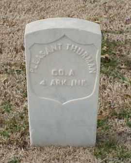 THURMAN (VETERAN UNION), PLEASANT - Pulaski County, Arkansas | PLEASANT THURMAN (VETERAN UNION) - Arkansas Gravestone Photos