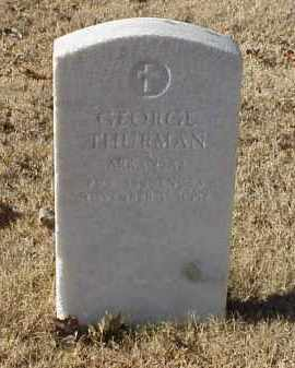 THURMAN (VETERAN WWI), GEORGE - Pulaski County, Arkansas | GEORGE THURMAN (VETERAN WWI) - Arkansas Gravestone Photos