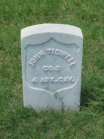 TIDWELL (VETERAN UNION), JOHN - Pulaski County, Arkansas | JOHN TIDWELL (VETERAN UNION) - Arkansas Gravestone Photos
