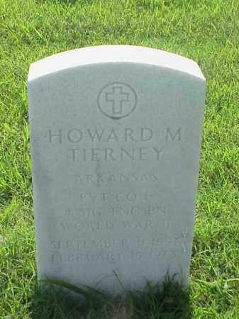 TIERNEY (VETERAN WWII), HOWARD M - Pulaski County, Arkansas | HOWARD M TIERNEY (VETERAN WWII) - Arkansas Gravestone Photos