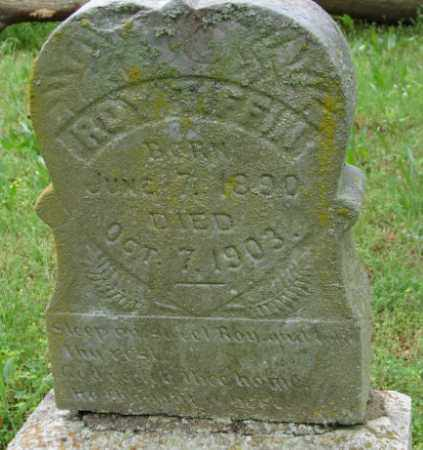 TIFFIN, ROY - Pulaski County, Arkansas | ROY TIFFIN - Arkansas Gravestone Photos