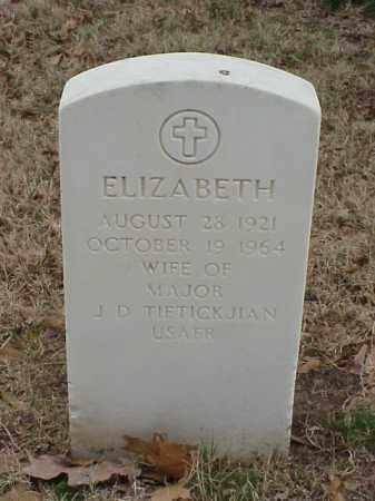 TIFTICKJIAN, ELIZABETH - Pulaski County, Arkansas | ELIZABETH TIFTICKJIAN - Arkansas Gravestone Photos