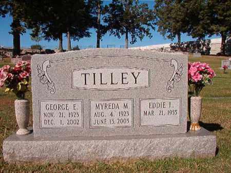 TILLEY, GEORGE E - Pulaski County, Arkansas | GEORGE E TILLEY - Arkansas Gravestone Photos