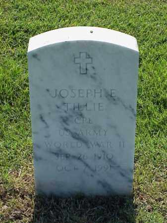 TILLIE (VETERAN WWII), JOSEPH E - Pulaski County, Arkansas | JOSEPH E TILLIE (VETERAN WWII) - Arkansas Gravestone Photos
