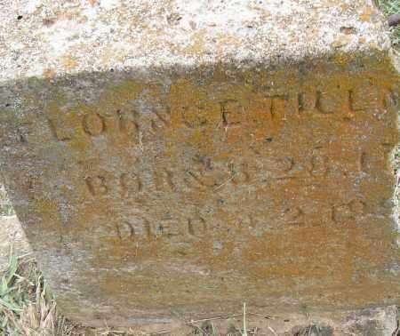 TILLM-, FLORNCE - Pulaski County, Arkansas | FLORNCE TILLM- - Arkansas Gravestone Photos