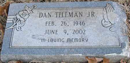 TILLMAN JR, DAN - Pulaski County, Arkansas | DAN TILLMAN JR - Arkansas Gravestone Photos