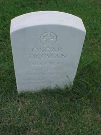 TILLMAN (VETERAN WWI), OSCAR - Pulaski County, Arkansas | OSCAR TILLMAN (VETERAN WWI) - Arkansas Gravestone Photos