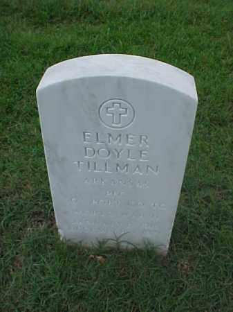 TILLMAN (VETERAN WWII), ELMER DOYLE - Pulaski County, Arkansas | ELMER DOYLE TILLMAN (VETERAN WWII) - Arkansas Gravestone Photos
