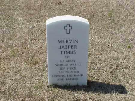 TIMBS (VETERAN WWII), MERVIN JASPER - Pulaski County, Arkansas | MERVIN JASPER TIMBS (VETERAN WWII) - Arkansas Gravestone Photos