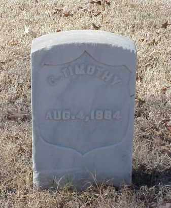 TIMOTHY (VETERAN UNION), C - Pulaski County, Arkansas | C TIMOTHY (VETERAN UNION) - Arkansas Gravestone Photos