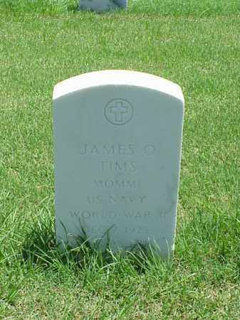 TIMS (VETERAN WWII), JAMES O - Pulaski County, Arkansas | JAMES O TIMS (VETERAN WWII) - Arkansas Gravestone Photos