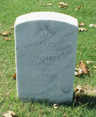TINNELL (VETERAN 3 WARS), LEON CHARLES - Pulaski County, Arkansas | LEON CHARLES TINNELL (VETERAN 3 WARS) - Arkansas Gravestone Photos