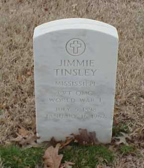 TINSLEY  (VETERAN WWI), JIMMIE - Pulaski County, Arkansas | JIMMIE TINSLEY  (VETERAN WWI) - Arkansas Gravestone Photos