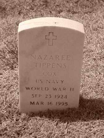 TIPPENS (VETERAN WWII), NAZAREE - Pulaski County, Arkansas | NAZAREE TIPPENS (VETERAN WWII) - Arkansas Gravestone Photos