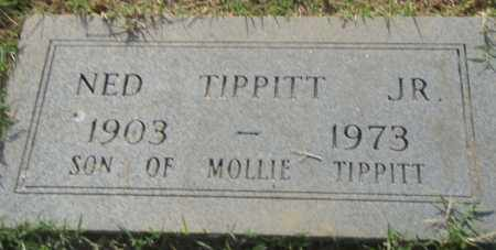 TIPPITT, JR., NED - Pulaski County, Arkansas | NED TIPPITT, JR. - Arkansas Gravestone Photos