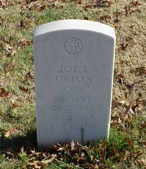 TIPTON (VETERAN WWII), JOE L - Pulaski County, Arkansas | JOE L TIPTON (VETERAN WWII) - Arkansas Gravestone Photos