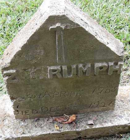 TIRUMPH, Z - Pulaski County, Arkansas   Z TIRUMPH - Arkansas Gravestone Photos