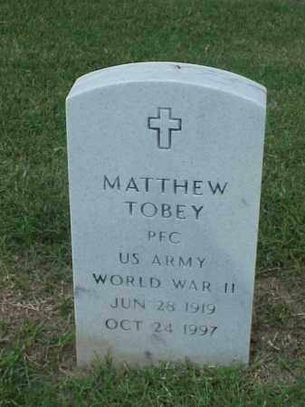 TOBEY (VETERAN WWII), MATTHEW - Pulaski County, Arkansas | MATTHEW TOBEY (VETERAN WWII) - Arkansas Gravestone Photos