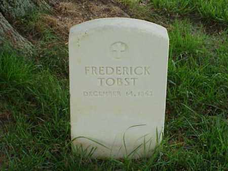 TOBST (VETERAN UNION), FREDERICK - Pulaski County, Arkansas | FREDERICK TOBST (VETERAN UNION) - Arkansas Gravestone Photos