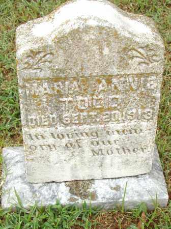 TODD, MARIA ANNIE - Pulaski County, Arkansas | MARIA ANNIE TODD - Arkansas Gravestone Photos