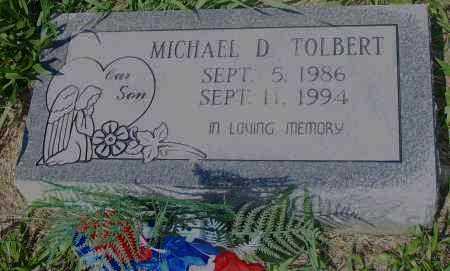 TOLBERT, MICHAEL, D - Pulaski County, Arkansas | MICHAEL, D TOLBERT - Arkansas Gravestone Photos
