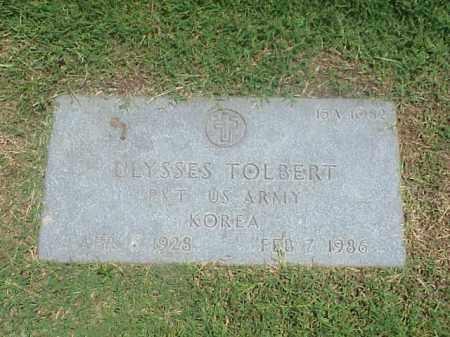 TOLBERT (VETERAN KOR), ULYSSES - Pulaski County, Arkansas | ULYSSES TOLBERT (VETERAN KOR) - Arkansas Gravestone Photos