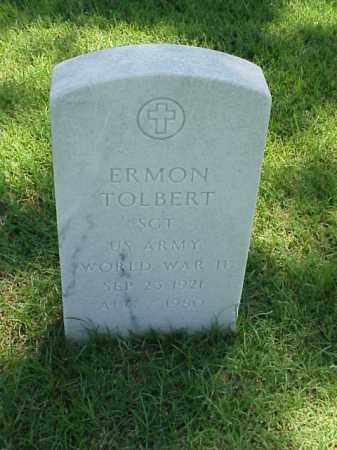 TOLBERT (VETERAN WWII), ERMON - Pulaski County, Arkansas | ERMON TOLBERT (VETERAN WWII) - Arkansas Gravestone Photos