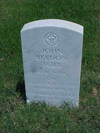 TOLL (VETERAN WWII), JOHN BELDON - Pulaski County, Arkansas | JOHN BELDON TOLL (VETERAN WWII) - Arkansas Gravestone Photos