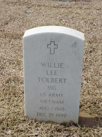 TOLBERT  (VETERAN VIET), WILLIE LEE - Pulaski County, Arkansas | WILLIE LEE TOLBERT  (VETERAN VIET) - Arkansas Gravestone Photos