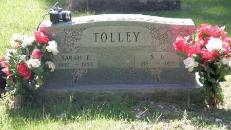 CATO TOLLEY, SARAH EMILINE - Pulaski County, Arkansas | SARAH EMILINE CATO TOLLEY - Arkansas Gravestone Photos