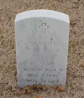 TOLLIVER  (VETERAN WWII), SAMUEL - Pulaski County, Arkansas | SAMUEL TOLLIVER  (VETERAN WWII) - Arkansas Gravestone Photos