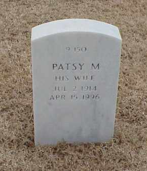 TOLLIVER, PATSY M - Pulaski County, Arkansas | PATSY M TOLLIVER - Arkansas Gravestone Photos