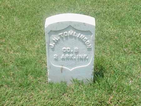 TOMLINSON (VETERAN UNION), J H - Pulaski County, Arkansas | J H TOMLINSON (VETERAN UNION) - Arkansas Gravestone Photos