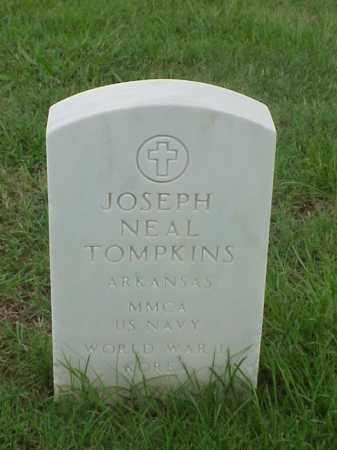 TOMPKINS (VETERAN 2 WARS), JOSEPH NEAL - Pulaski County, Arkansas | JOSEPH NEAL TOMPKINS (VETERAN 2 WARS) - Arkansas Gravestone Photos